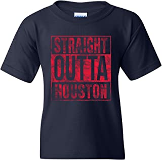 UGP Campus Apparel Straight Outta, Hometown Pride, Basic Cotton Youth T-Shirt