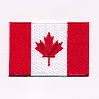 60 x 35 mm Canadese vlag Canada Ottawa patch patch patch opstrijkmachine 0636 B