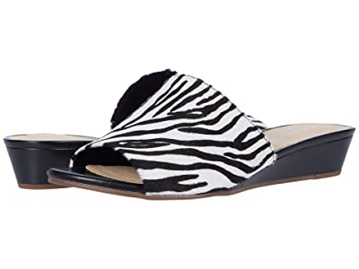 Clarks Sense Slide (Zebra Print) Women