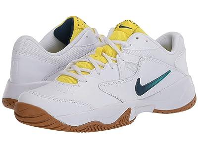 Nike Court Lite 2 (White/Valerian Blue/Oracle Aqua) Women
