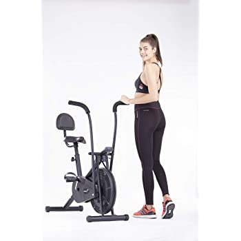 Anfibio siga adelante ego  Buy Superfit Air Bike AB6099 with Cushioned backrest for Home Gym and  Cardio Exercise Cycle Online at Low Prices in India - Amazon.in