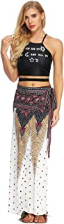 Women Printed Slim Slimming Long Skirt High Quality (Size : Free Size, Style : BEQ001)
