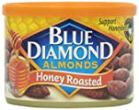 Blue Diamond Almonds Honey Roasted, 6 Ounce
