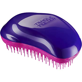 Tangle Teezer The Original Brush, Wet or Dry Detangling Hairbrush for All Hair Types - Plum Delicious