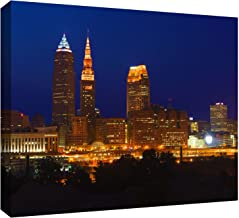 ArtWall Cody York 'Cleveland 15' Gallery-Wrapped Canvas Artwork, 12 by 18-Inch