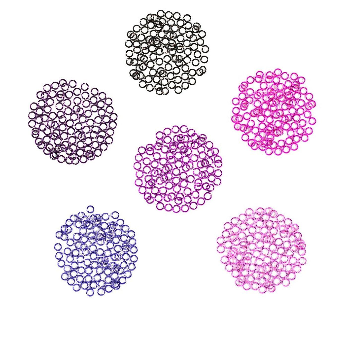 Berry Patch - Enameled Copper Jump Rings – 20 Gauge – 3.5mm ID - 600 Rings - Amethyst, Black, Fuchsia, Hot Pink, Lavender, Purple