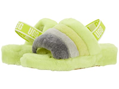 UGG Fluff Yeah Slide (Sulfur Multi) Women