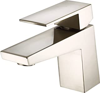 Danze D222562BN Mid-Town Single Handle Lavatory Faucet, Brushed Nickel