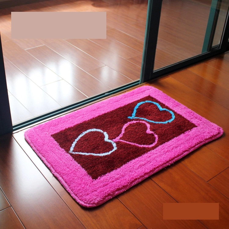 Water-Absorbing Non-Slip Door mat for Bathroom, Kitchen,Living Room,Bedroom-S 50x80cm(20x31inch)