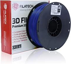 Filatech ABS Filament, Lumin Dark Blue, 1.75mm, 1 kg, Made in UAE