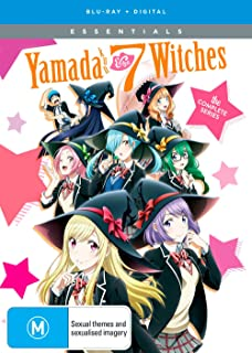 Yamada-Kun And The Seven Witches Essentials Blu-Ray(山田くんと7人の魔女 全12話)