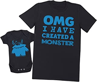 OMG I've Created a Azul Monster! - regalo para padres y beb