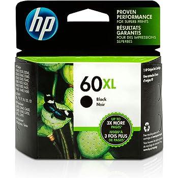 HP 60XL | Ink Cartridge | Black | CC641WN