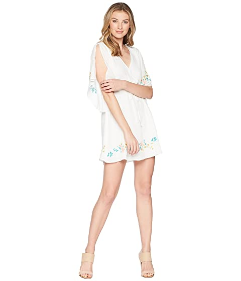 JACK BY BB DAKOTA Gwendolyn Dress With Embroidery, Bright White
