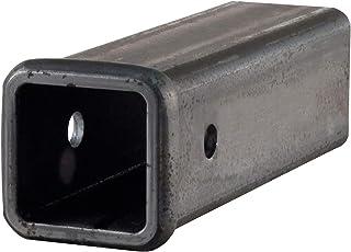 CURT 49510 2-1/2-Inch x 10-Inch Weld-On Raw Steel Trailer Hitch Receiver Tube