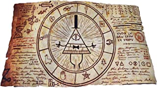 Gravity falls Bill Cipher Magic Summoning Scroll