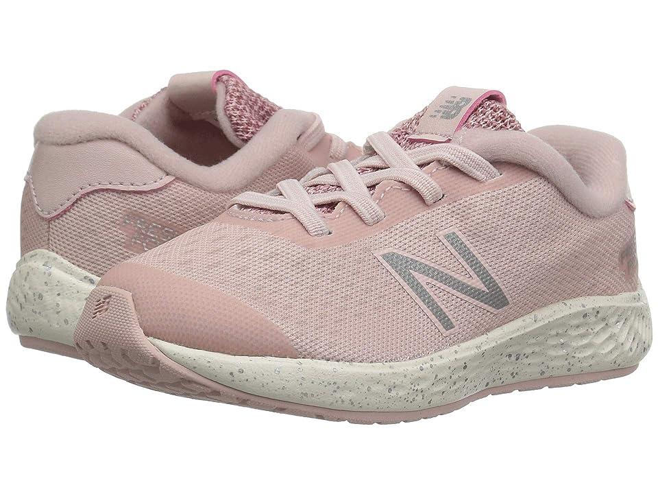 New Balance Kids KVARNv1 (Infant/Toddler) (Conch Shell/Dark Oxide) Girls Shoes