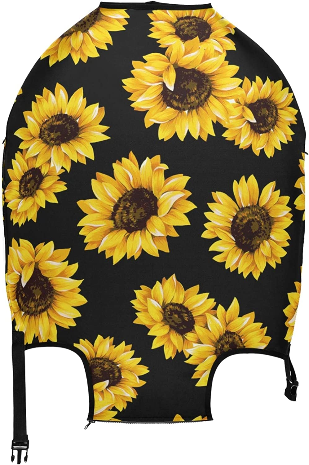 ALAZA Lovely Sunflower Luggage Travel Protec New product! New type Case Cover online shop Suitcase