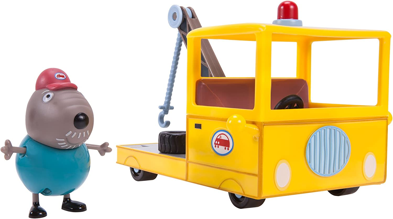 PEPPA PIG Little Granddad Dog, Tow Truck