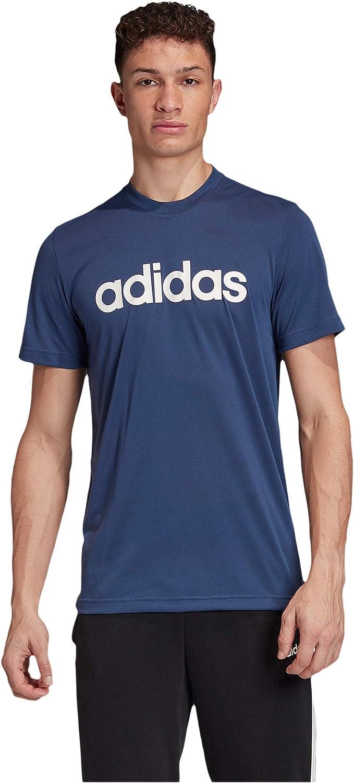 adidas Men's Designed 2 Move Soft Clima Tee Bargain Logo Fashion