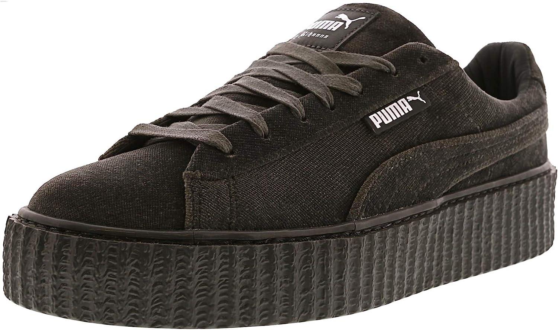 PUMA Women's Creeper Velvet Ankle-High Fashion Sneaker