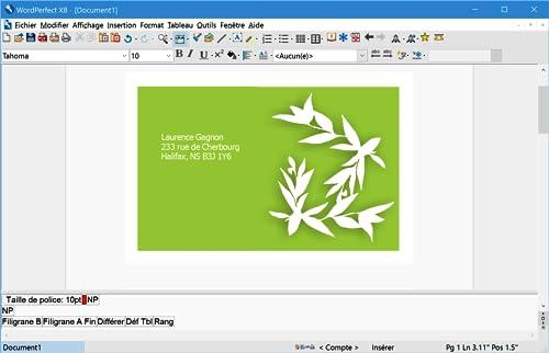 WordPerfect Office X8 Édition professionnelle [Téléchargement]