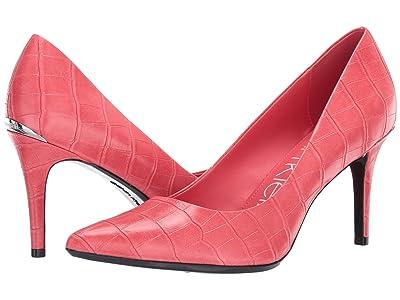Calvin Klein Gayle Pump (Coral) High Heels