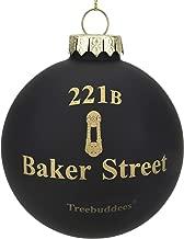 Tree Buddees 221B Baker Street Sherlock Holmes Christmas Ornament