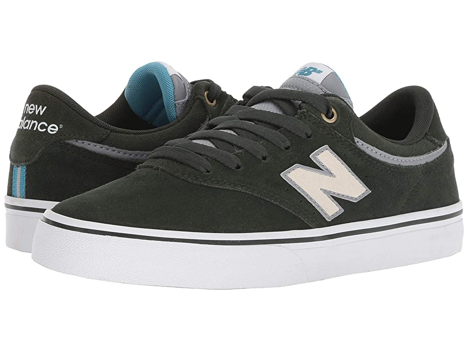 New Balance Numeric NM255 (Forest/White) Men's Skate Shoes, Green
