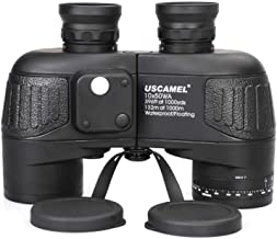 USCAMEL 10×50 Marine Binoculars for Adults, Military Binoculars Waterproof with..