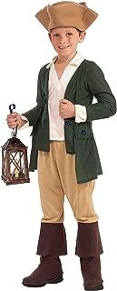Forum Novelties Paul Revere Costume, Child Large