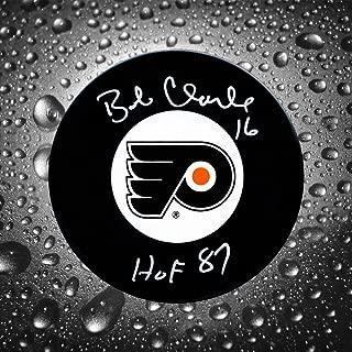 Autographed Bobby Clarke Puck - HOF - Autographed NHL Pucks