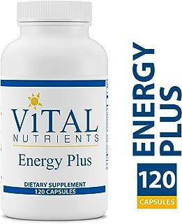 Vital Nutrients - Energy Plus - Non-Stimulatory Herbal Energy Support - 120 Vegetarian Capsules per Bottle