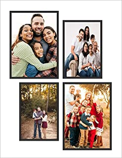 MAMRY ART CREATIONS Picture Frames Sets Multiple Sizes, Two 4x6, Two 5x7, Photo Frames for Wall, Frame for Living Room Bed...