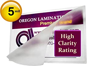 Qty 500 Hot 5 Mil 3 x 4 Laminating Pouches Hunting Fishing License Clear 3x4