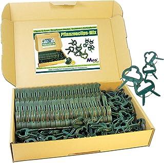 200x Pflanzenclips,Pflanzenbinder,Pflanzenklammern,Clip,Klammer,Klammern,Pflanze