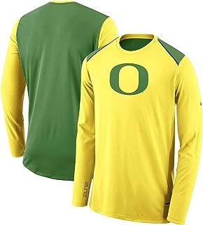 Nike Oregon Ducks Dri-Fit Elite Long Sleeve Shooter Shirt (Medium)