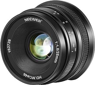 Color Negro Lente de Enfoque Manual de 35 mm para c/ámaras compactas sin Espejo Canon M1 M2 M3 M5 M6 M10 EOS-M 7artisans F1.2 APS-C