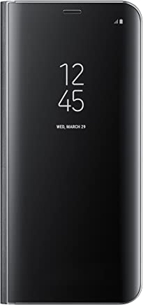 Samsung サムスン 純正品 Galaxy S8+ クリアビュー Clear View Standing Cover 手帳型 ケース カバー【並行輸入品】 (Black)
