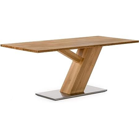 Amazon Brand Ranger 160 Table Chêne sauvage huilé naturel 160 x 90 x 75 cm