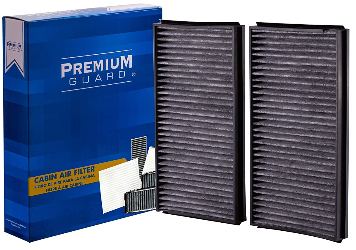 PG Cabin Air Filter PC6078C | Fits 2004-07 BMW 525i, 2008-11 528i, 2009 528i xDrive, 2008 528xi, 2004-07 530i, 2006-07 530xi, 2008-09 535i, 2008 535xi, 2004-05 545i, 2006-09 550i, 2004-05 645Ci