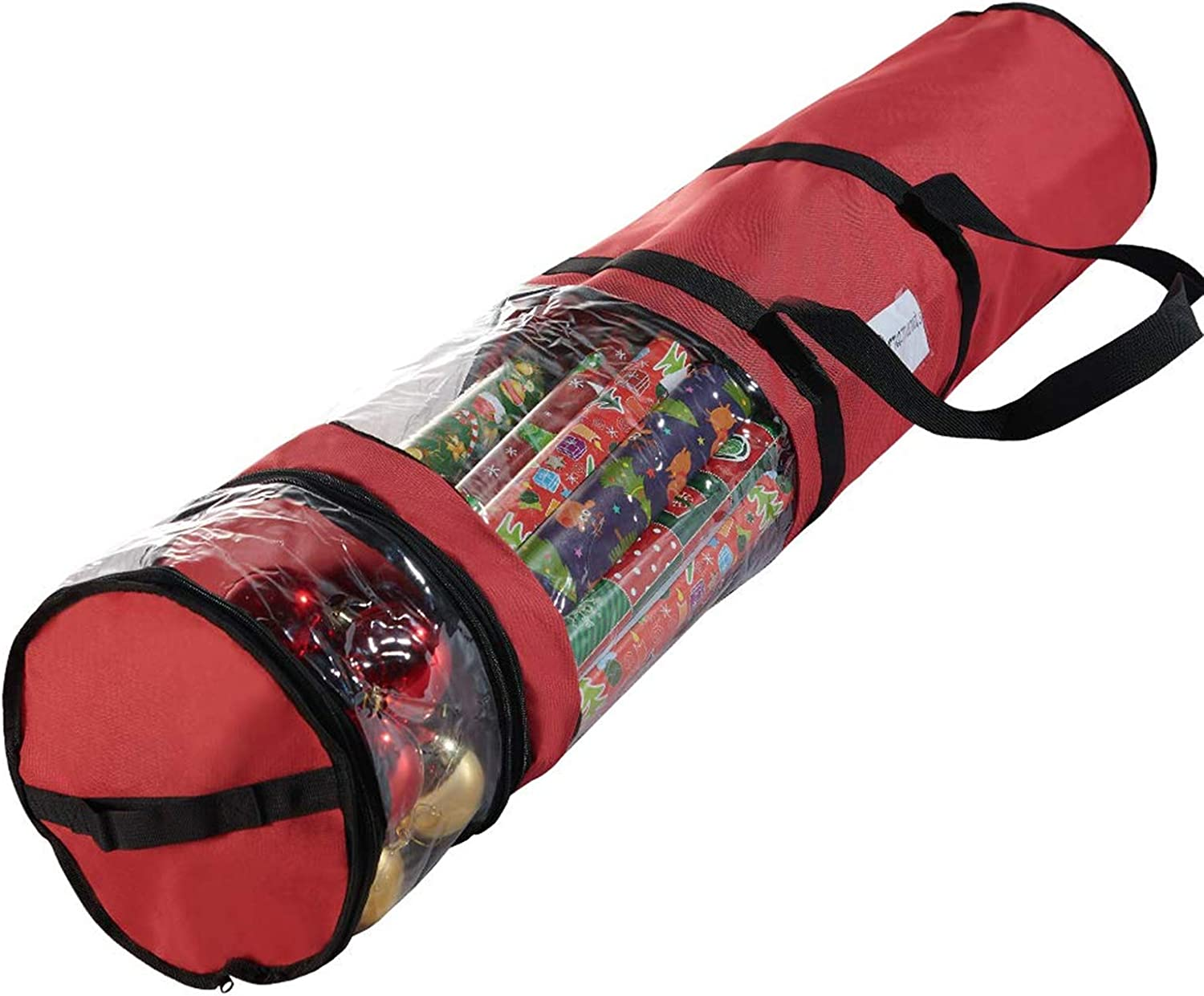 micoe Christmas Wrapping Paper Storage Max 80% Inventory cleanup selling sale OFF 20 Roll Fits - Containers