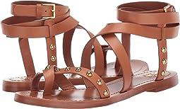 Ravello Studded Ankle-Wrap Sandal