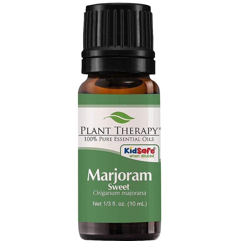 光景後方弁護Plant Therapy Undiluted Therapeutic Grade Essential Oil, Sweet Marjoram by Plant Therapy
