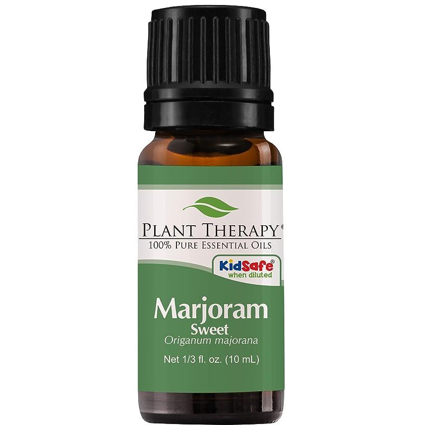 心から破産投票Plant Therapy Undiluted Therapeutic Grade Essential Oil, Sweet Marjoram by Plant Therapy