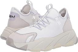 Nubuck White/Reflex Jersey Silver/Knit White/White/Gross Grain W