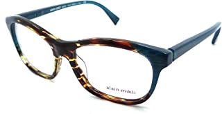 Alain Mikli Rx Eyeglasses Frames A03068 F108 53x16 Dot White Black Pearl Italy