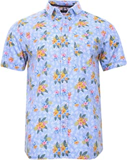 BRAVE SOUL Mens Fun Print Summer Party BBQ Designer Holiday Shorts & Shirts