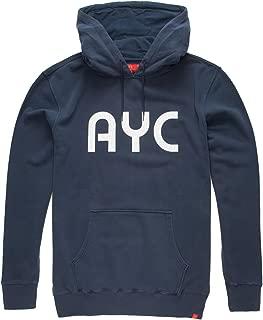 AYC Tokyo Underground Mens Hoodie, Indigo, X-Large