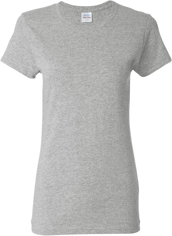 Gildan Womens 5.3 oz. Heavy Cotton Missy Fit TShirt G500L (Pack of 12)